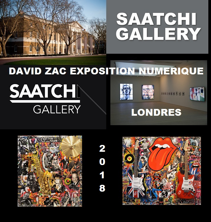 DAVID ZAC A SAATCHI GALLERY LONDRES