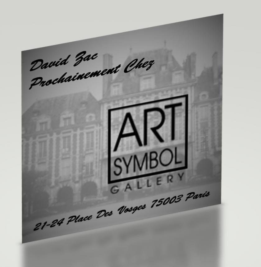David Zac expose chez Art Symbol Gallery