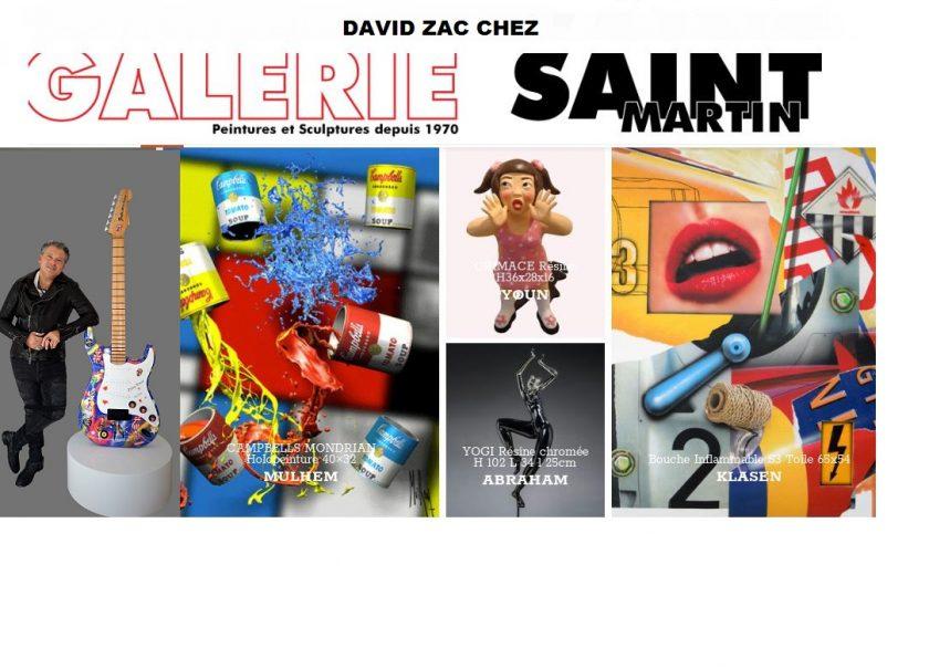 David Zac Expose à Courchevel et Megève