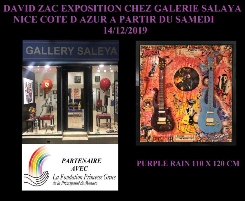 David Zac est chez Gallery Saleya Nice Cote D'azur