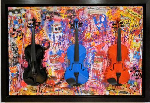 PoP Art Is Forever: 120 cm X 80 cm