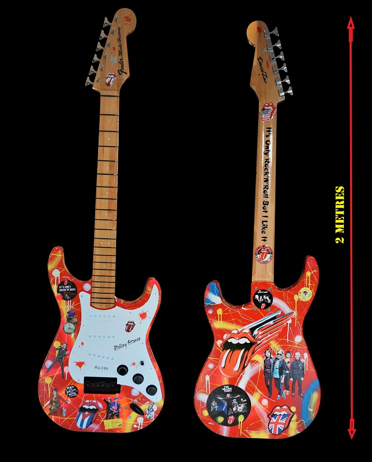Fender Make History: Stones: 2 métres X 70cm