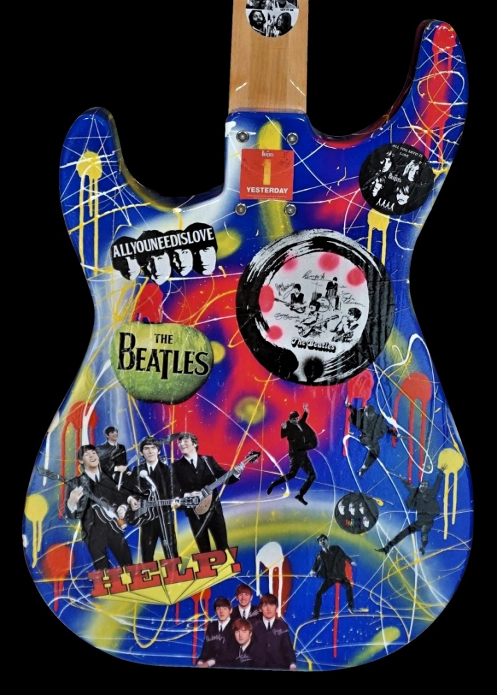 Fender Make History: Beatles: Serial: 170820011