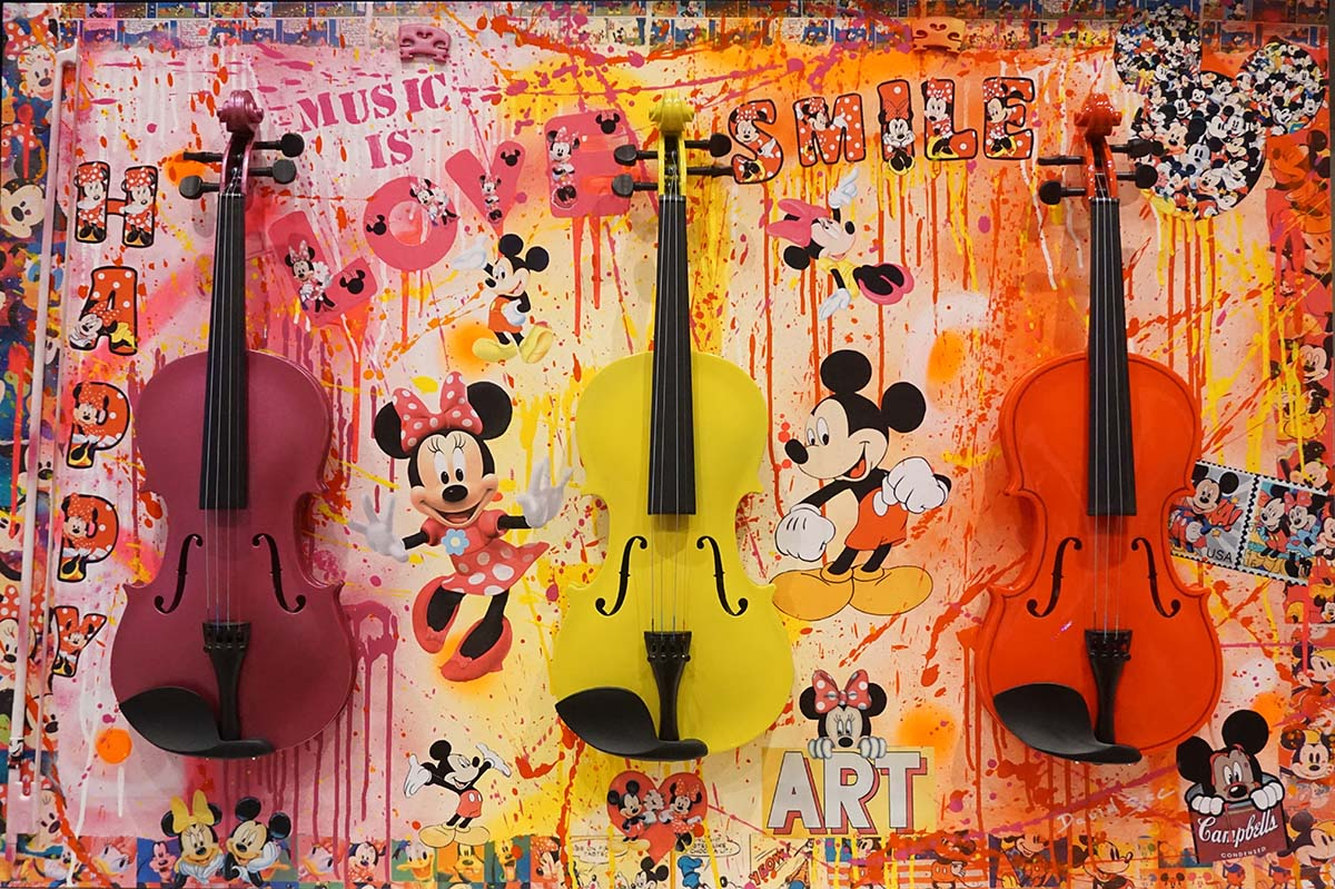 Music is Love: 140 cm x 100 cm