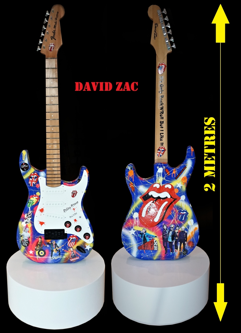 Fender Make History: Stones: 2 mètres x 70 cm