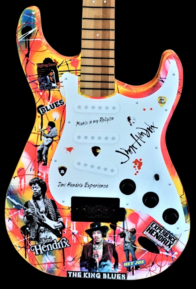 Fender Make History: Hendrix: Serial: 200320032