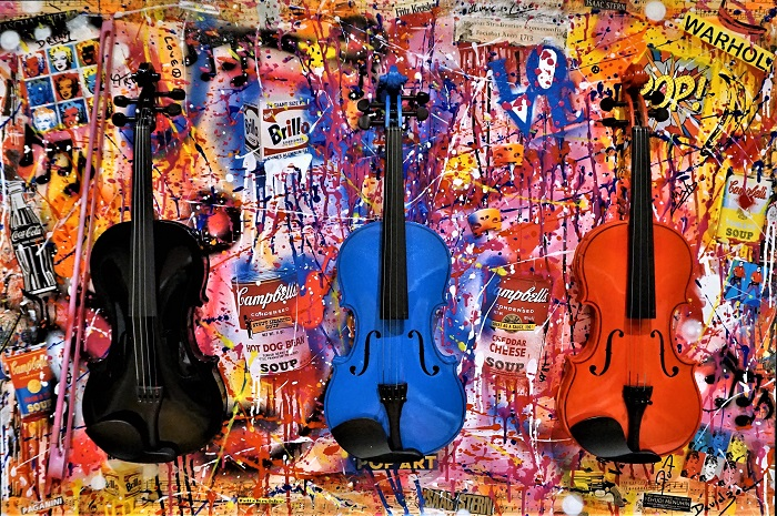 PoP Art Forever: 120 cm x 80 cm
